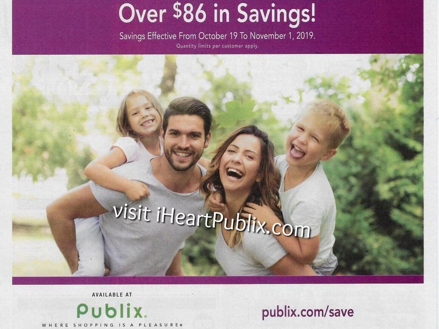 Publix Health Beauty Advantage Buy Flyer Super Deals Valid 10 19 To 11 1