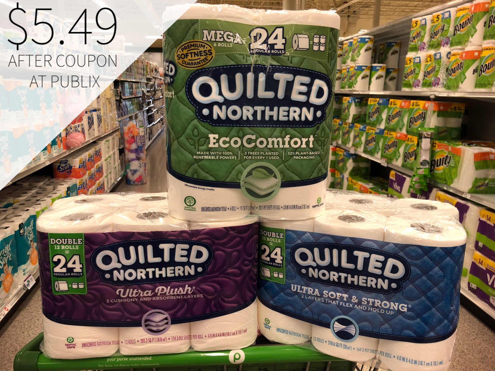 Still Time To Grab A Super Deal On Quilted Northern® Bathroom Tissue Right Now At Publix on I Heart Publix