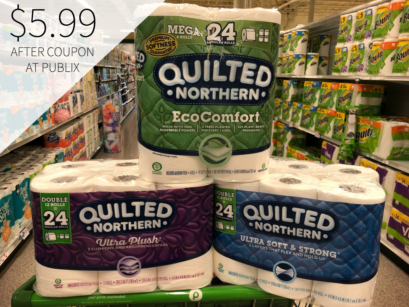 Awesome Deal On Quilted Northern® Bathroom Tissue This Week At Publix on I Heart Publix 1