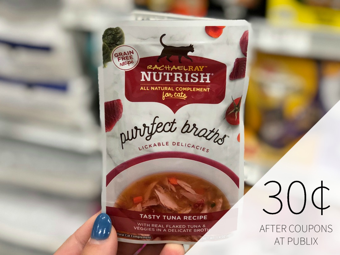 Rachael Ray Nutrish Purrfect Broths Only 30¢ At Publix on I Heart Publix