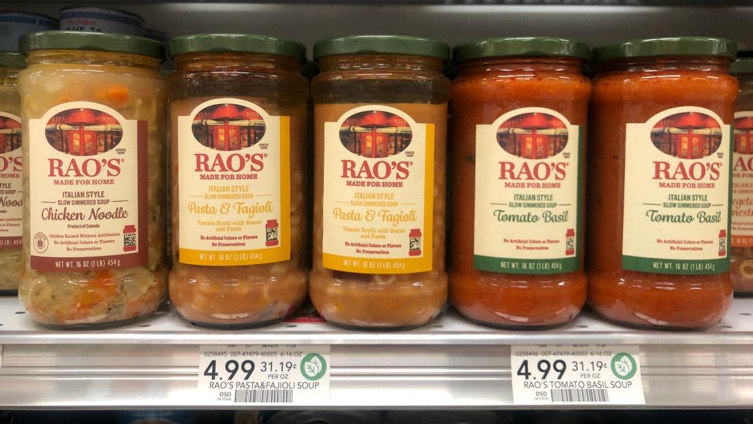New Rao's Soup Ibotta Cash Back Offer on I Heart Publix