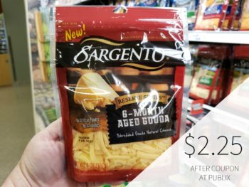 New Sargento Shredded Cheese Digital Coupon - Just $2.25 Per Bag on I Heart Publix 1