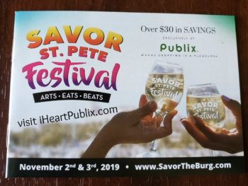 """New Publix Booklet - """"Clearwater Beach Uncorked"""" on I Heart Publix"""