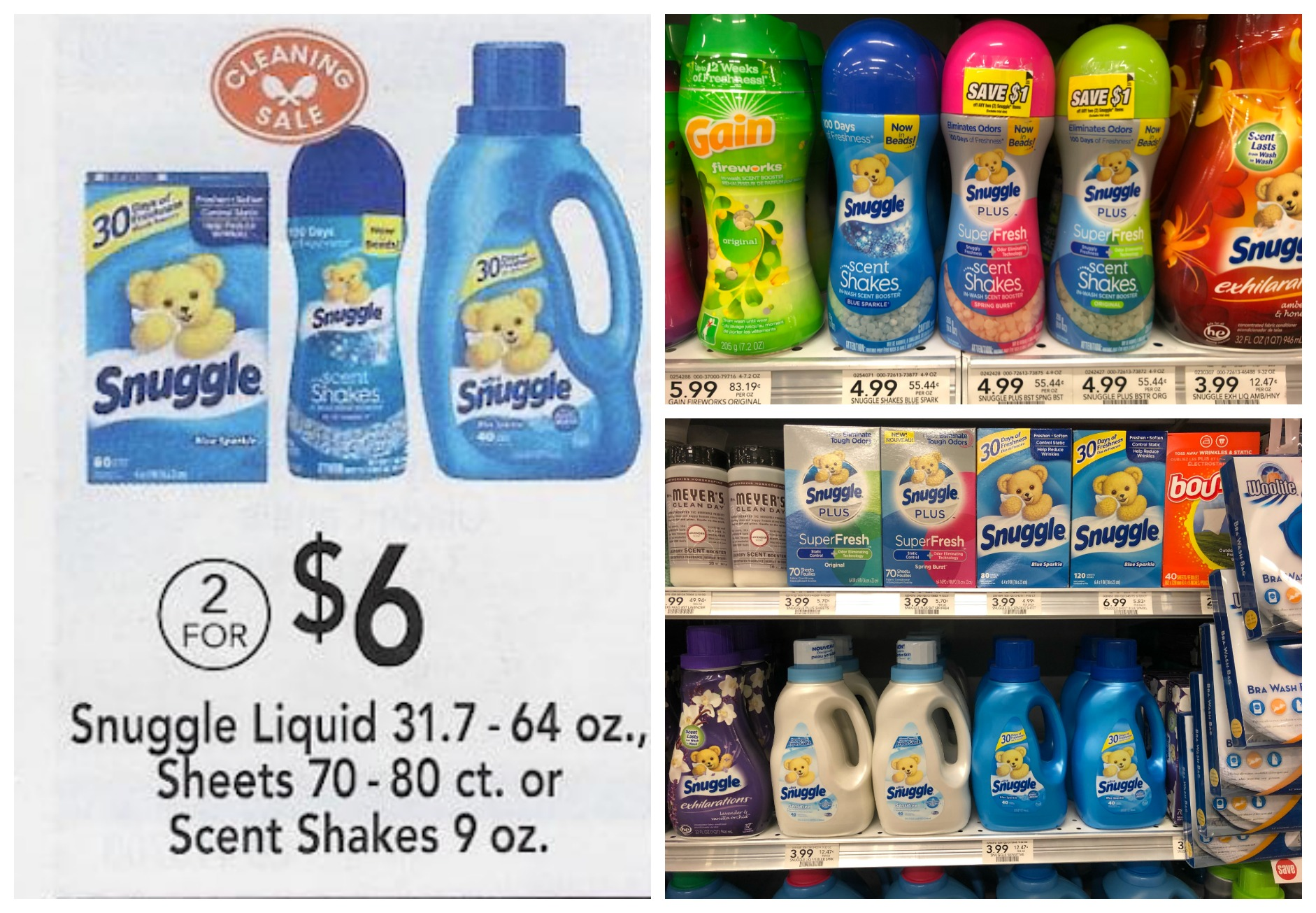 Snuggle Products Just $1.50 At Publix on I Heart Publix