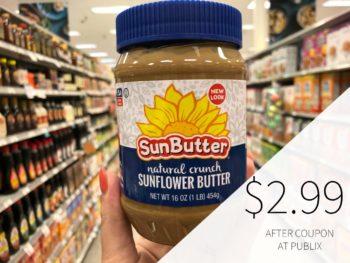 SunButter Coupon For Publix Sale (Sunflower Butter Half Price!!) on I Heart Publix 1
