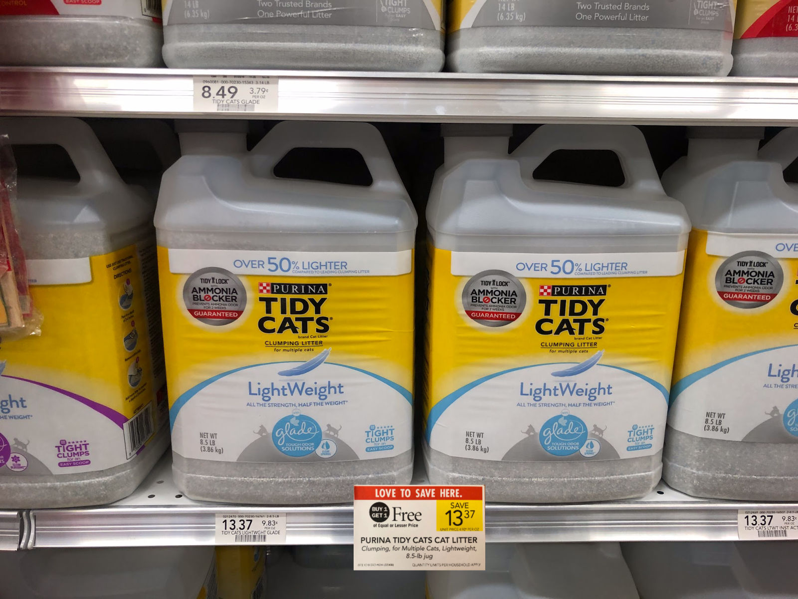 Purina Tidy Cats LightWeight Cat Litter Just $4.69 At Publix (Save Over $8!) on I Heart Publix
