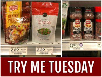 Try Me Tuesday - Publix Bacon Bits on I Heart Publix