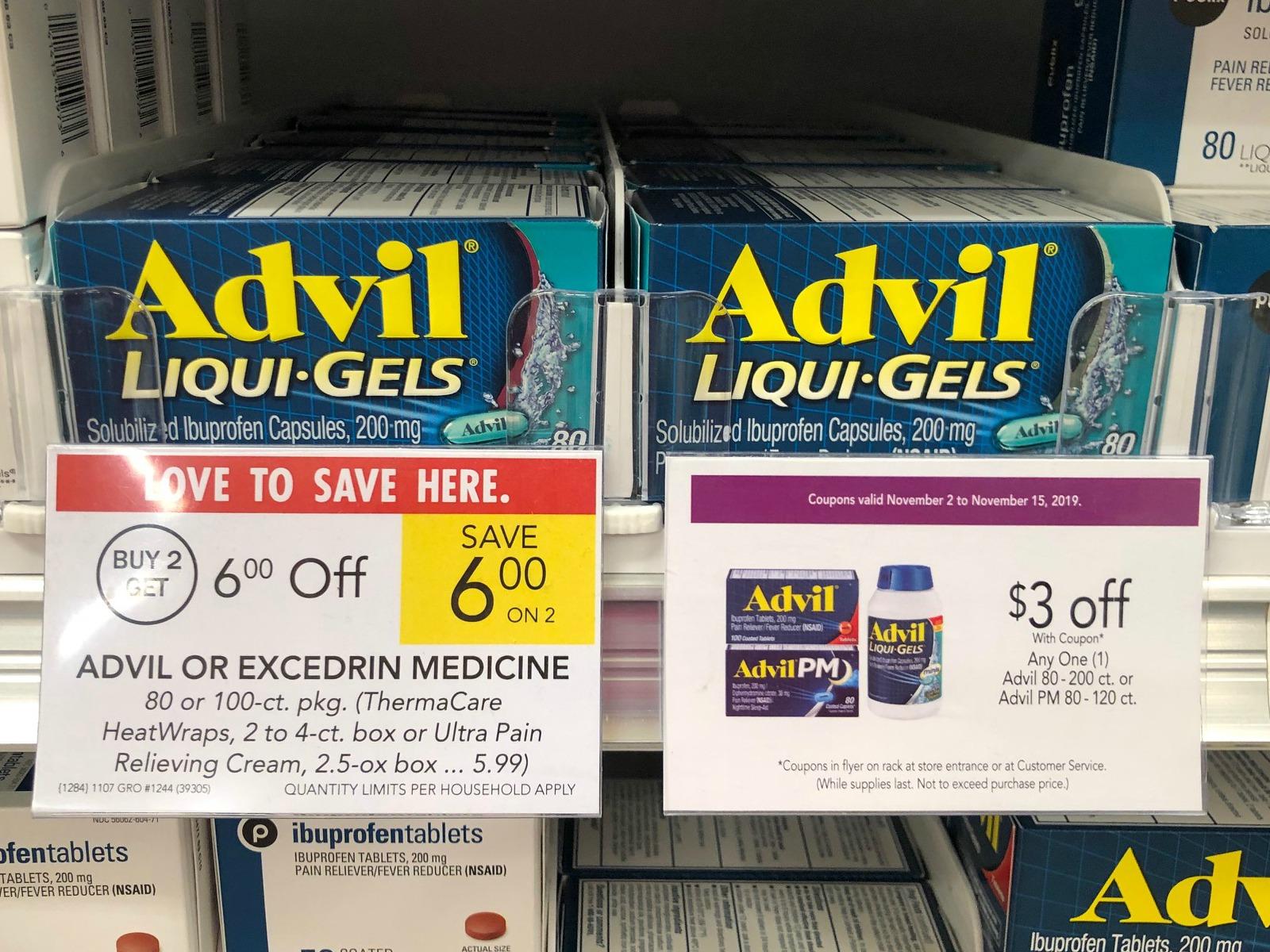 Advil Liqui Gels Just 4 98 At Publix Less Than Half Price