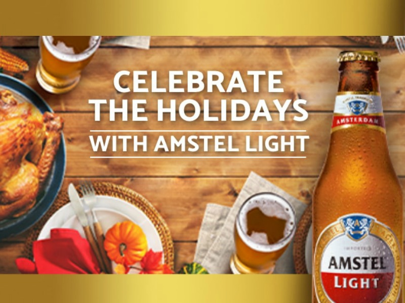 Celebrate The Holidays With Amstel Light - $10 Rebate Offer on I Heart Publix
