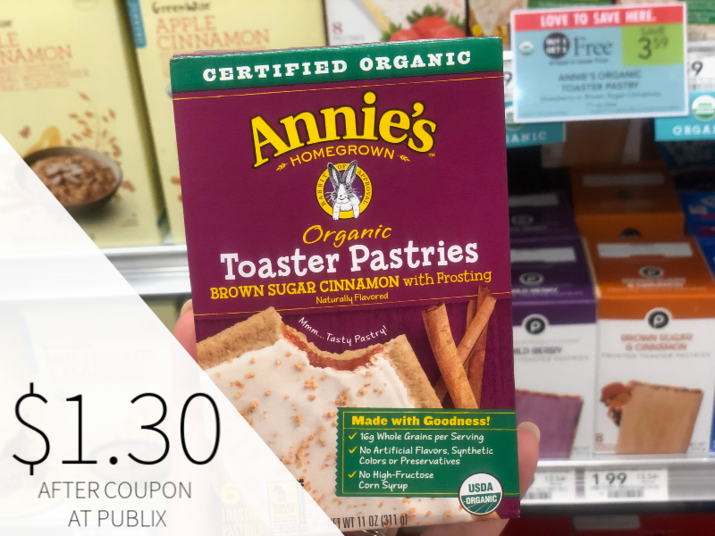 Annie's Toaster Pastries Only $1.30 At Publix on I Heart Publix 1