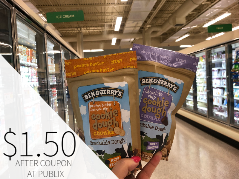 Ben & Jerry's Products Only $1.50 At Publix on I Heart Publix
