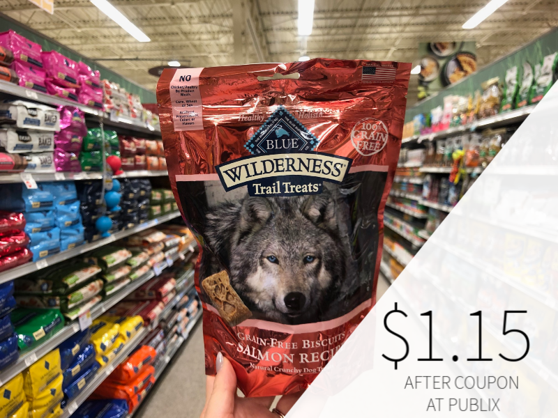 Blue Wilderness Crunchy Dog Treats on I Heart Publix 1