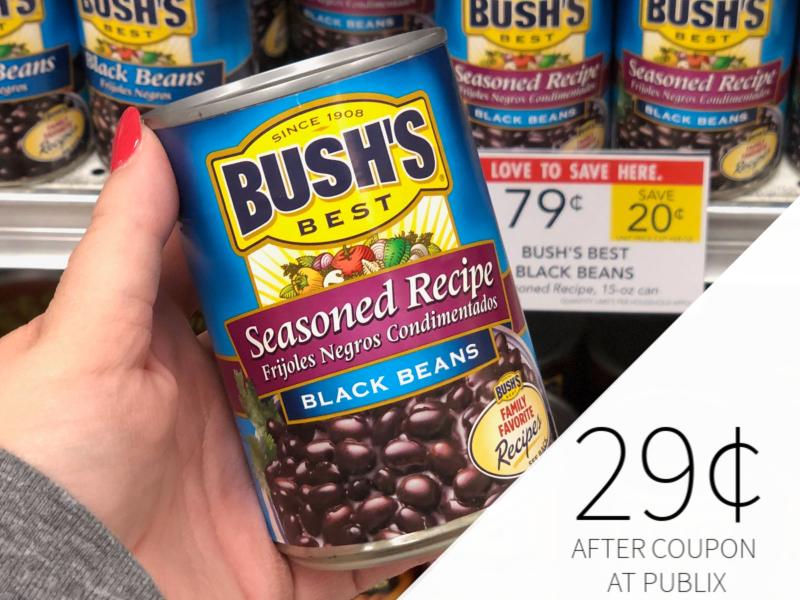 Bush's Black Beans Just 29¢ At Publix on I Heart Publix 1