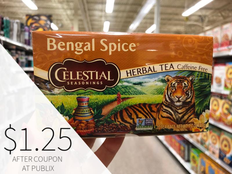 Celestial Seasonings Tea on I Heart Publix