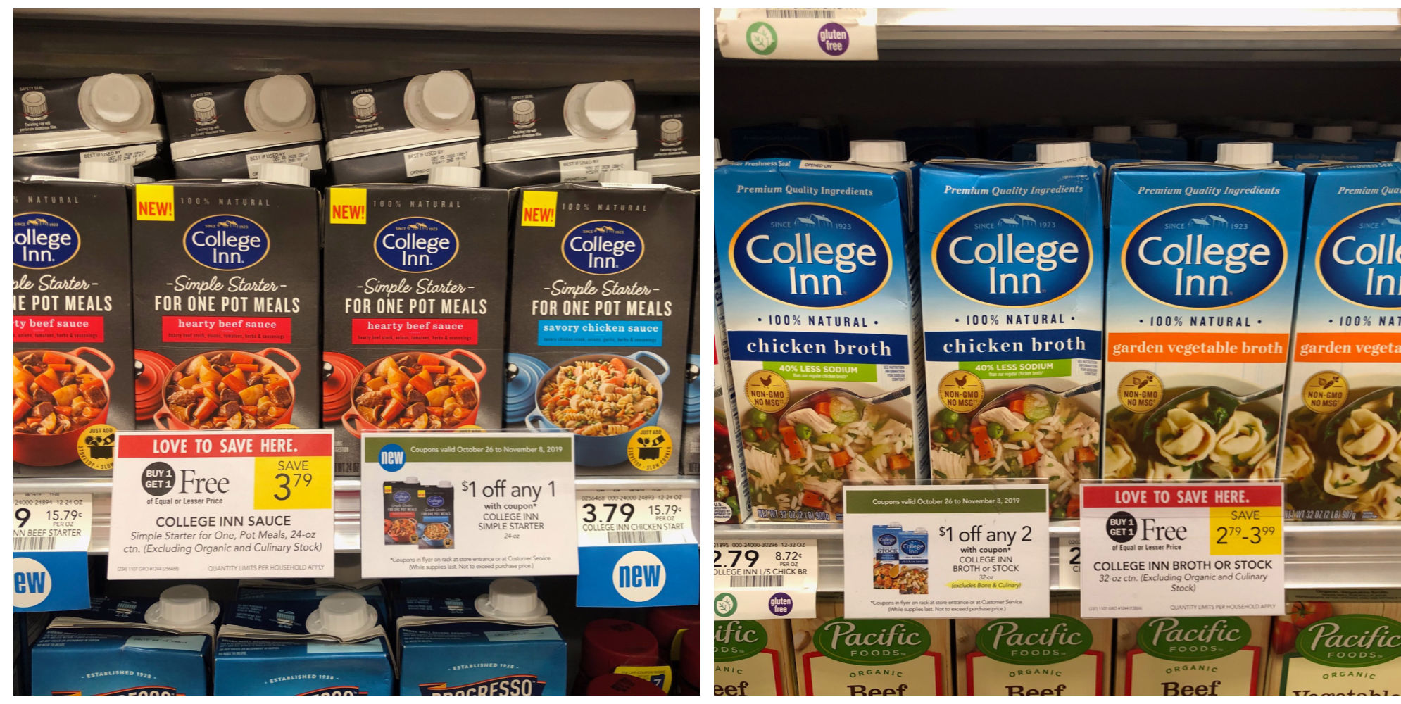 Super Deals College Inn Products At Publix - As Low As FREE After Coupons! on I Heart Publix