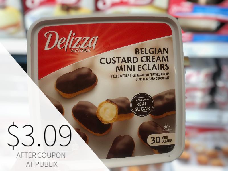 Delizza Belgian Custard Cream Mini Eclairs Just $3.09 At Publix on I Heart Publix 1