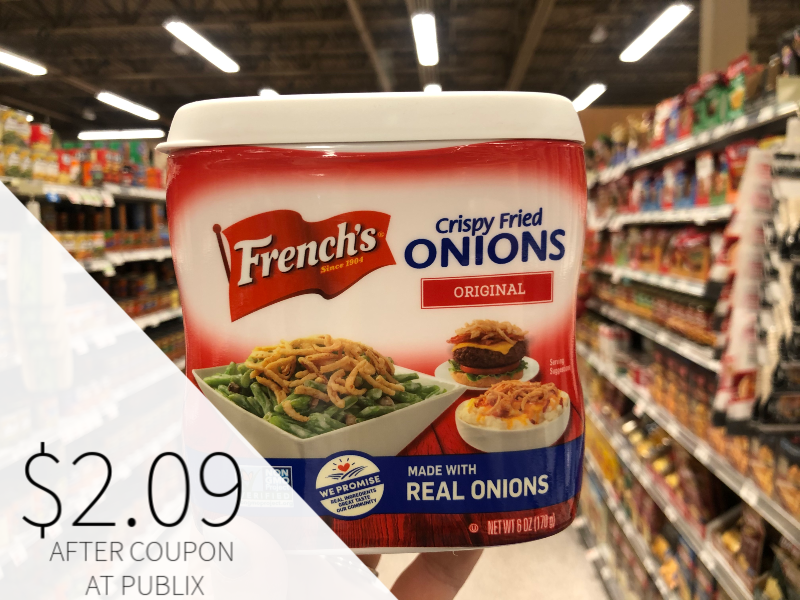 French's Crispy Fried Onions Only $2.09 At Publix on I Heart Publix