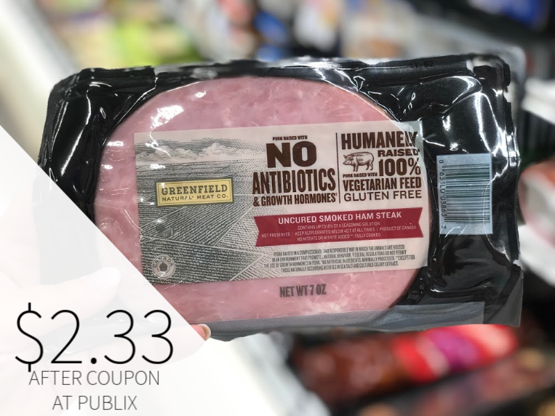 Greenfield Ham Steak Just $3.33 At Publix on I Heart Publix 2