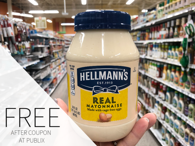 FREE Hellmann's Mayonnaise At Publix on I Heart Publix