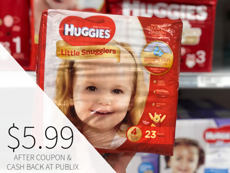New Huggies Coupons - Snug & Dry Diapers Just $5.99 At Publix on I Heart Publix