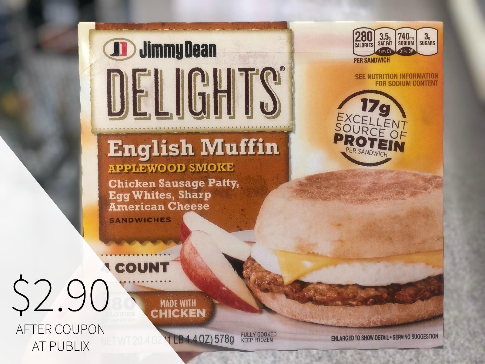 Jimmy Dean Delights Sandwiches Just $2.50 At Publix on I Heart Publix 3