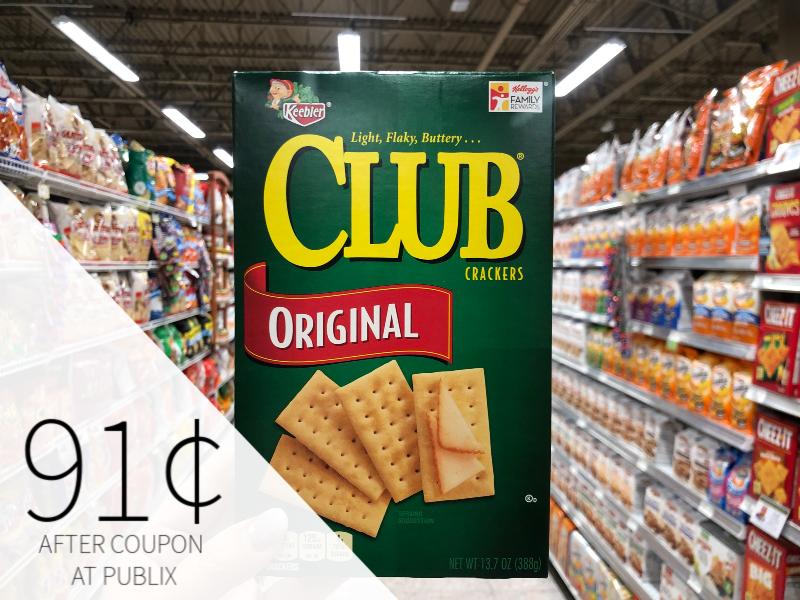 Keebler Crackers Only 91¢ At Publix on I Heart Publix