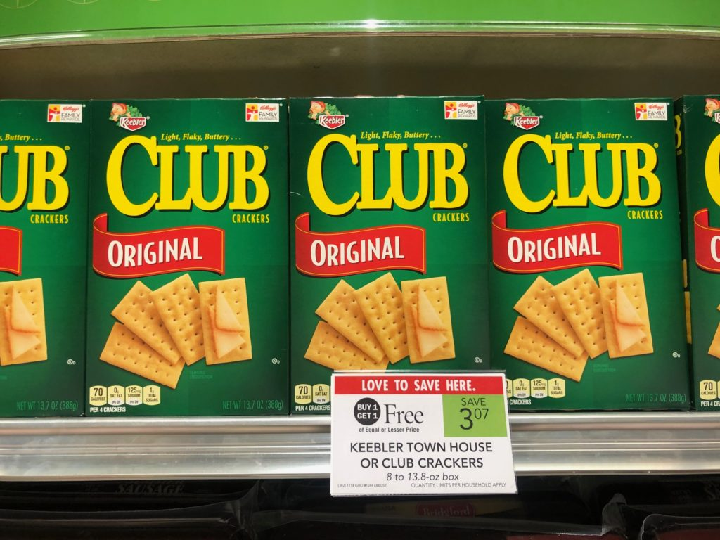 Keebler Crackers Only on I Heart Publix