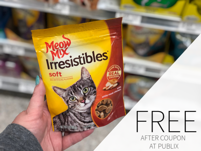 Meow Mix Irresistibles Treats for Cats on I Heart Publix