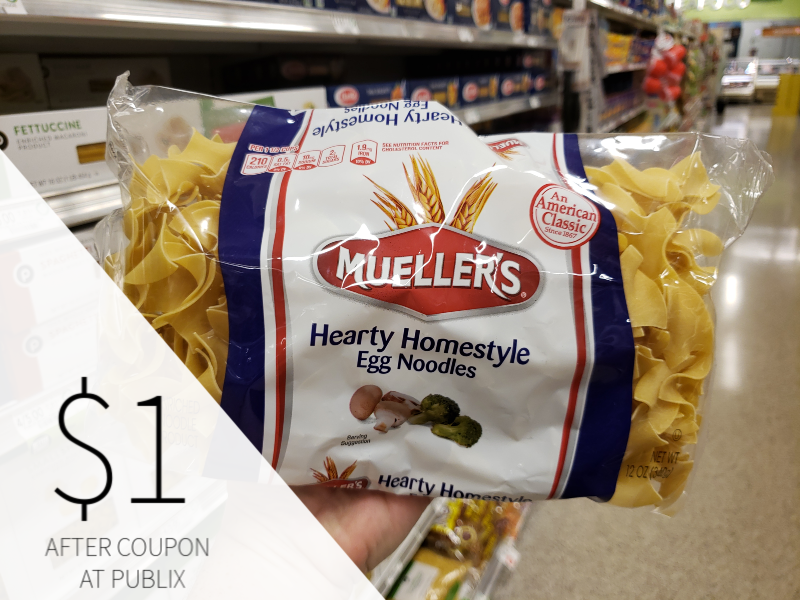 Mueller's Egg Noodles on I Heart Publix