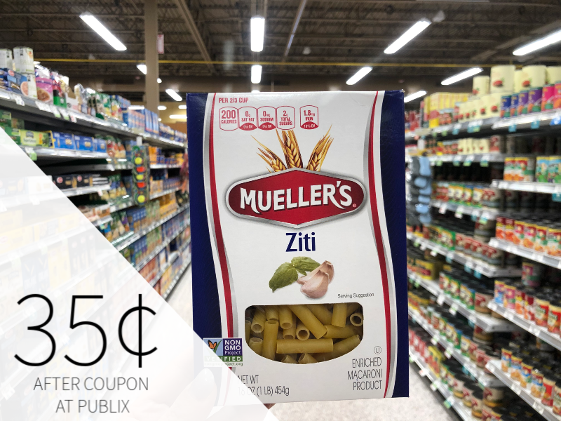 Mueller's Pasta Just 35¢ At Publix on I Heart Publix