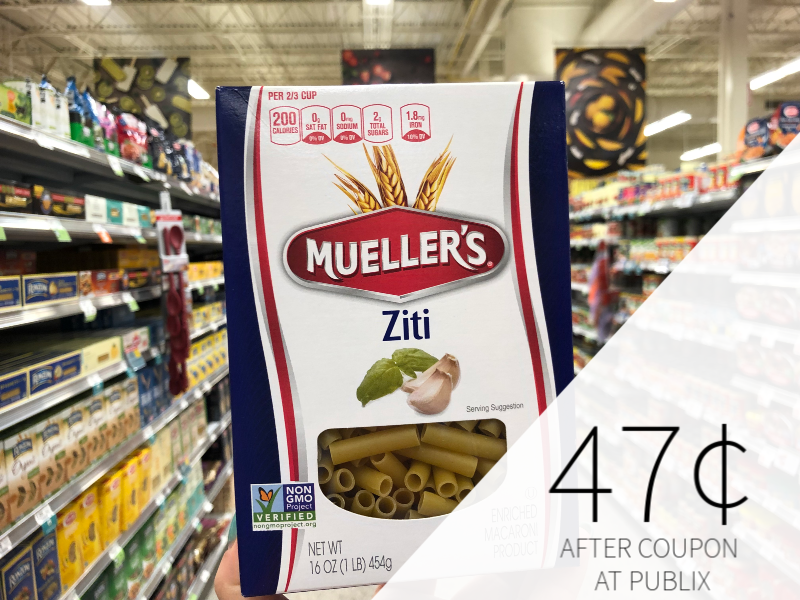 Mueller's Pasta Just 47¢ At Publix on I Heart Publix
