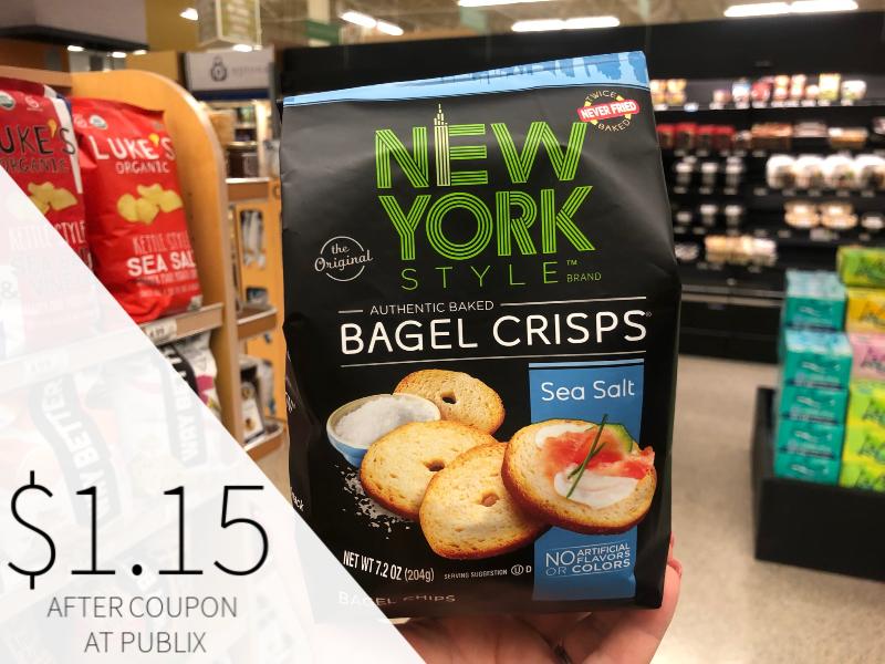 New York Style Bagel Crisps Just $1.15 At Publix on I Heart Publix 1