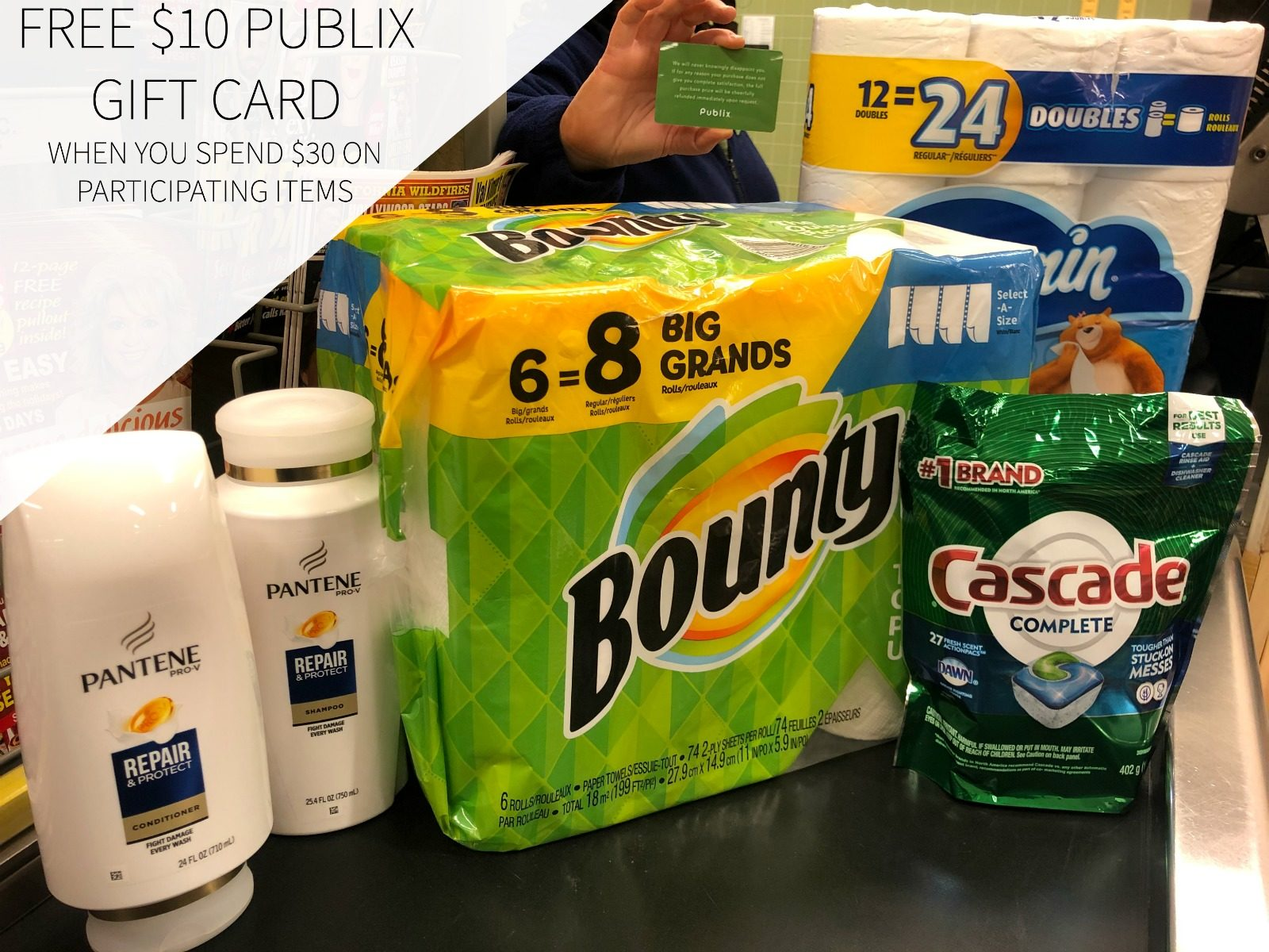 P G For Home For Family For You Promo Returns Get A 10 Publix Gift Card With Your Participating Purchase