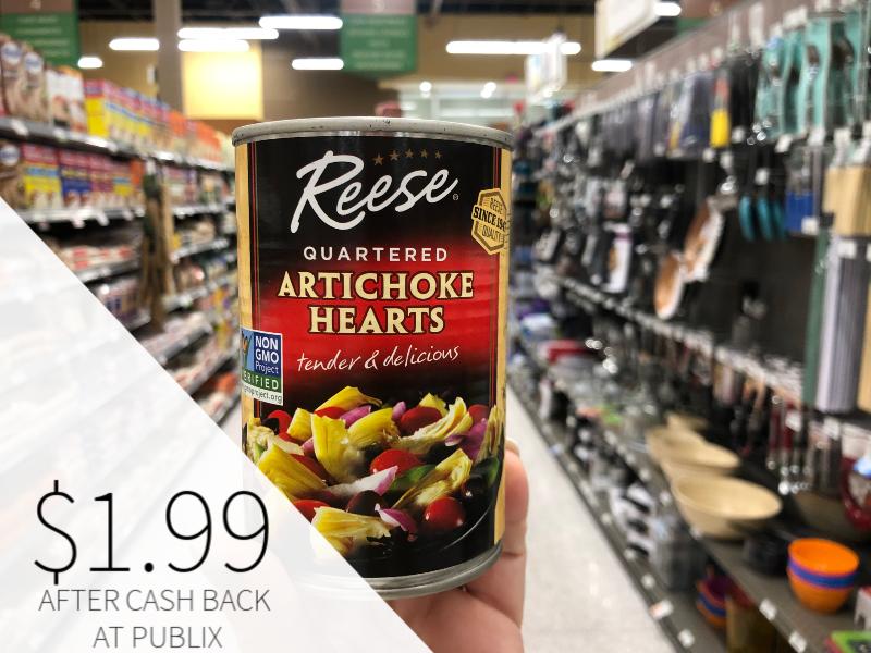Reese Artichoke Hearts Just $1.99 At Publix on I Heart Publix 1