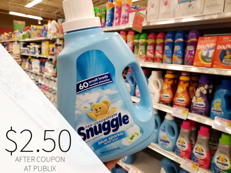 Snuggle Fabric Softener on I Heart Publix 1