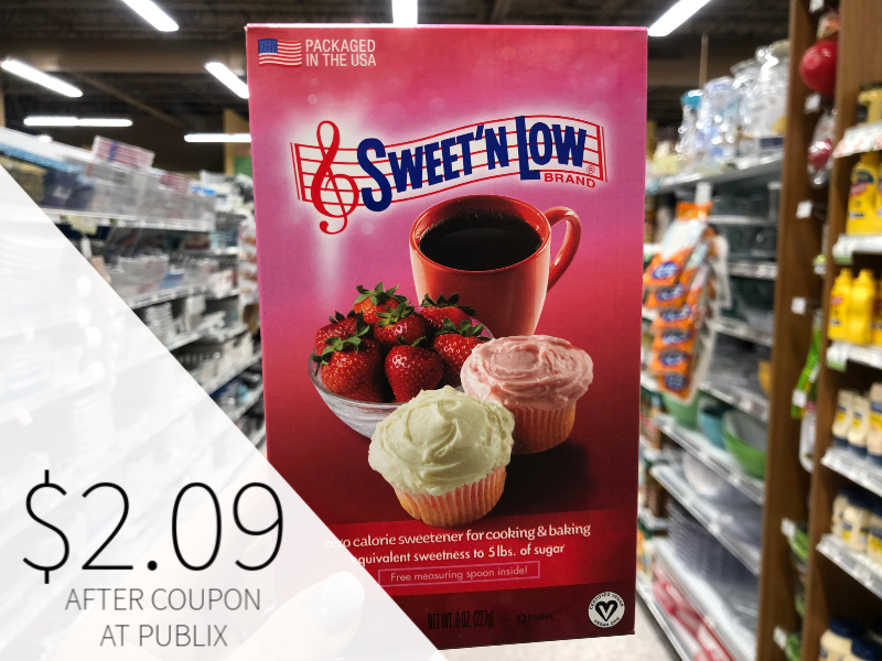 Lots Of New Sweetener Coupons - Sweet'N Low Just $2.09 At Publix on I Heart Publix 1