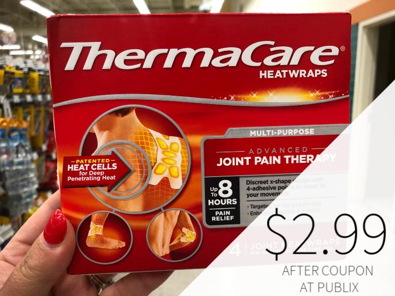 ThermaCare HeatWraps Just $2.99 At Publix on I Heart Publix