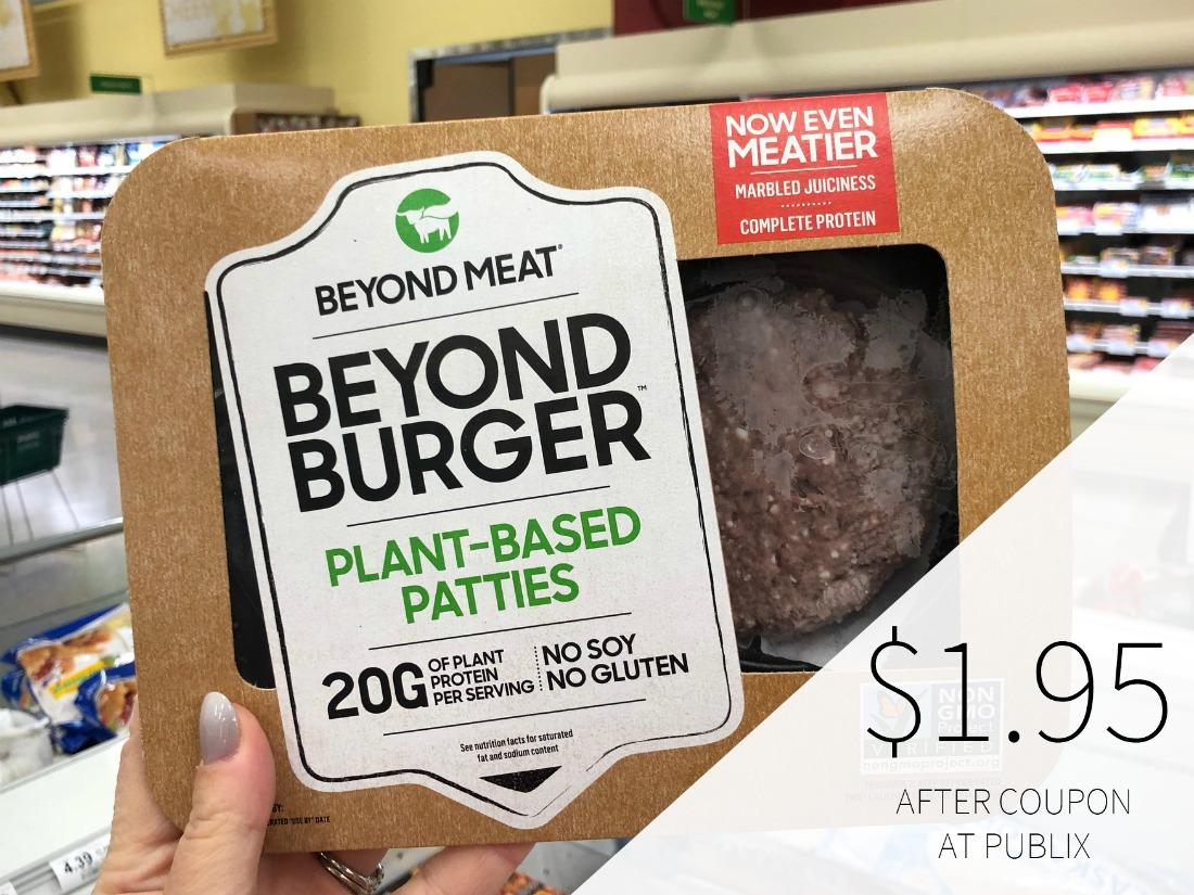 Beyond Meat The Beyond Burger Just $1.95 At Publix on I Heart Publix 1