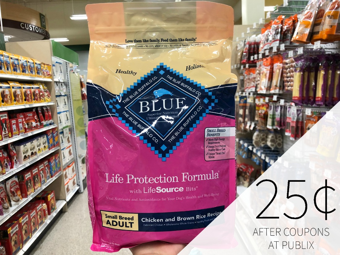 Blue Buffalo Adult Dog Food Just $4.25 At Publix on I Heart Publix 1