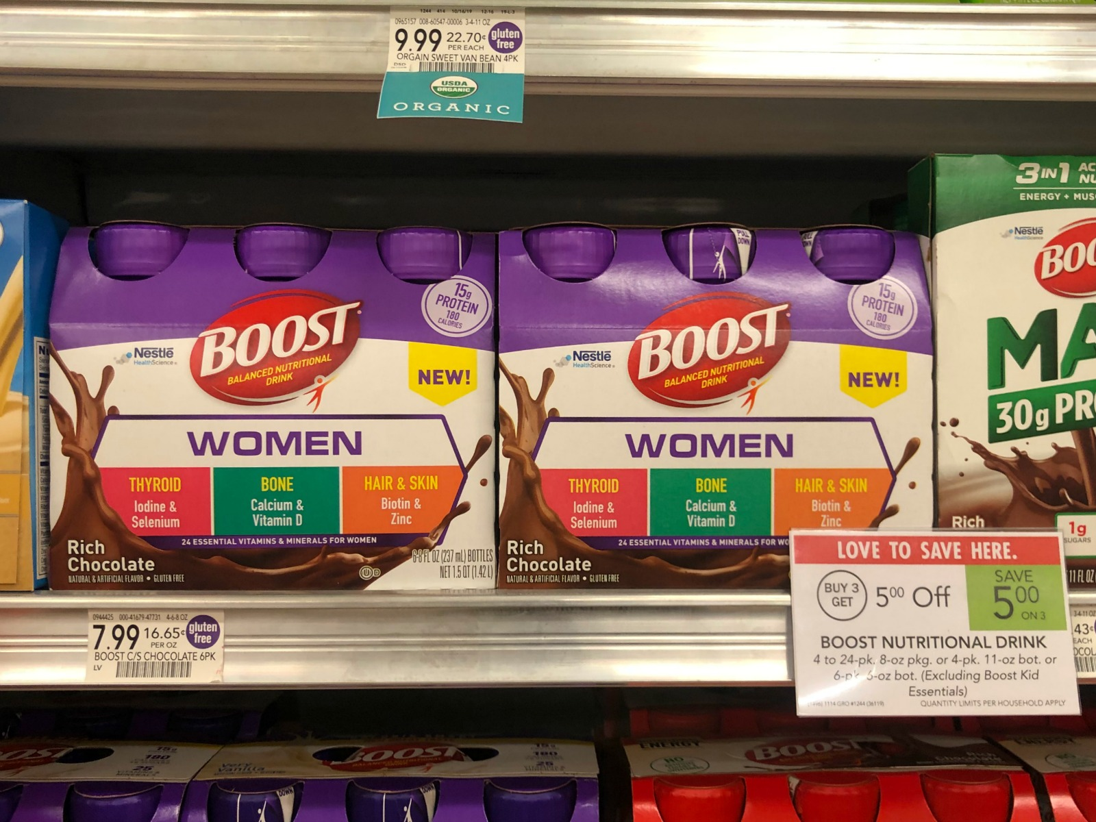 Try NEW BOOST® WOMEN Balanced Nutritional Drinks - Big Savings Available Now At Publix on I Heart Publix
