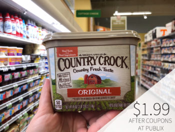 Can't Miss Deal On Country Crock Spread Available Now At Publix on I Heart Publix
