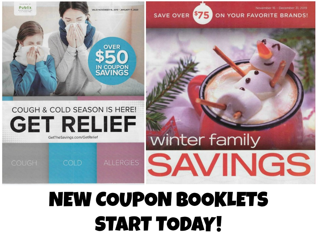 New Coupon Booklets Start Today on I Heart Publix