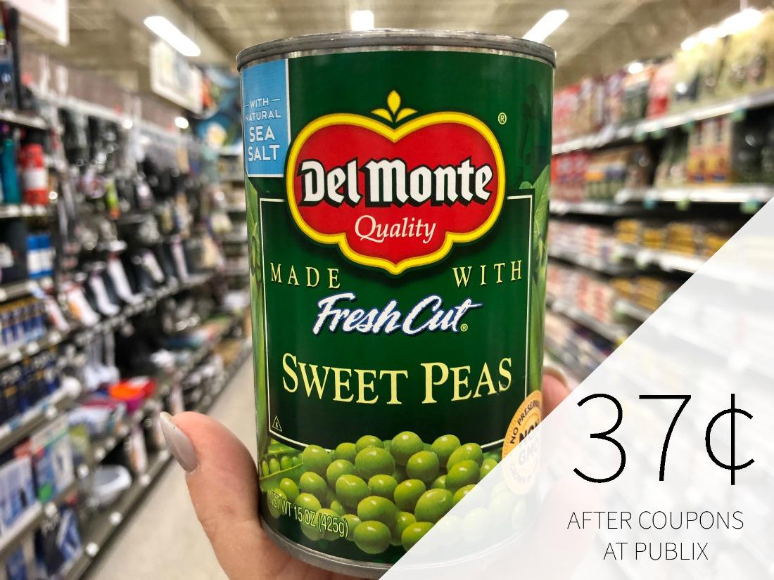 Del Monte Vegetables Only 47¢ At Publix on I Heart Publix 1