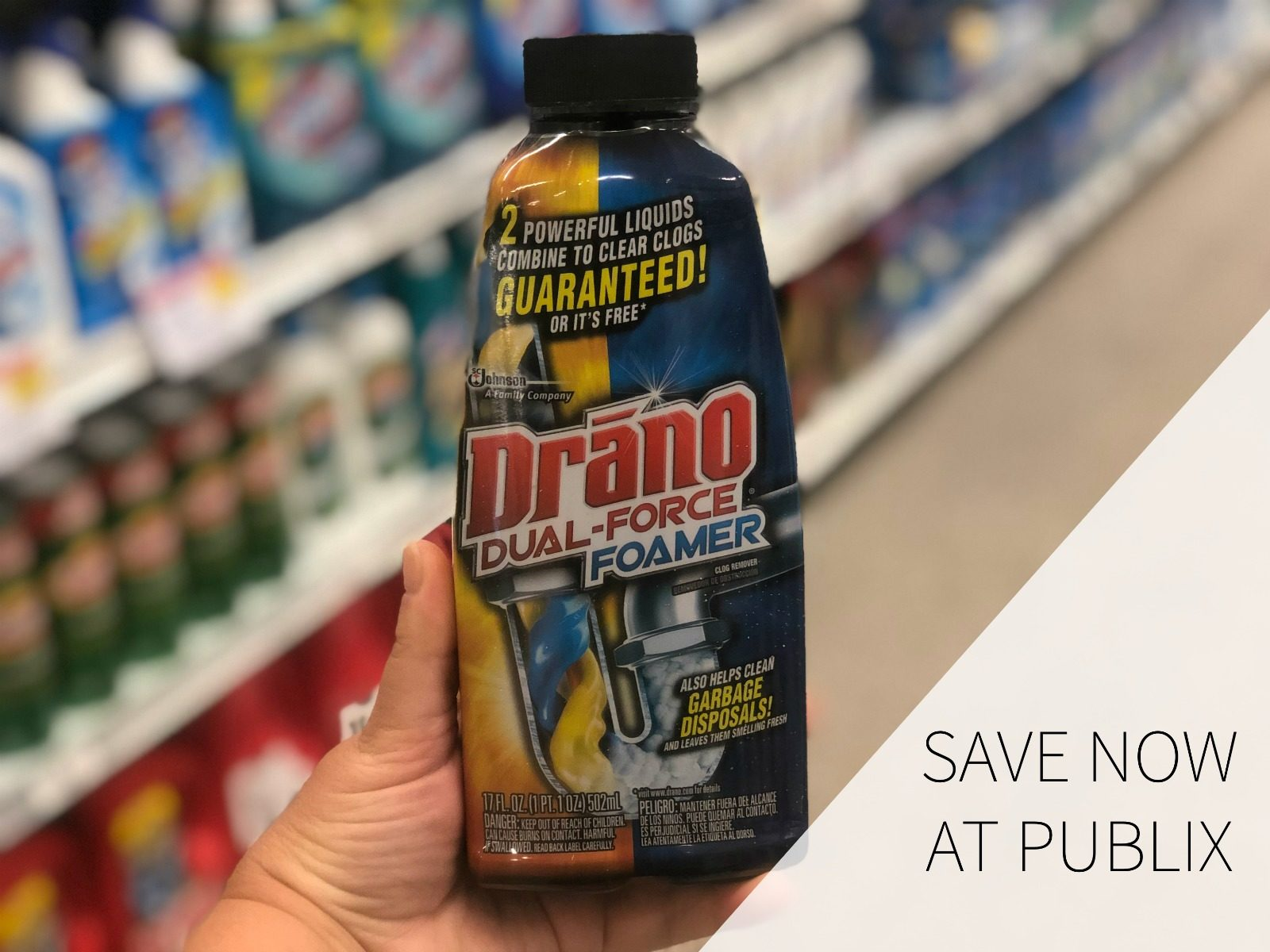 Pick Up A Super Deal On Drano® Products & Be Ready For Any Holiday Mess! on I Heart Publix