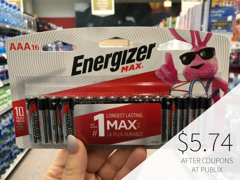 Energizer Batteries 16ct Just $5.74 At Publix (Less Than Half Price!!) on I Heart Publix 1