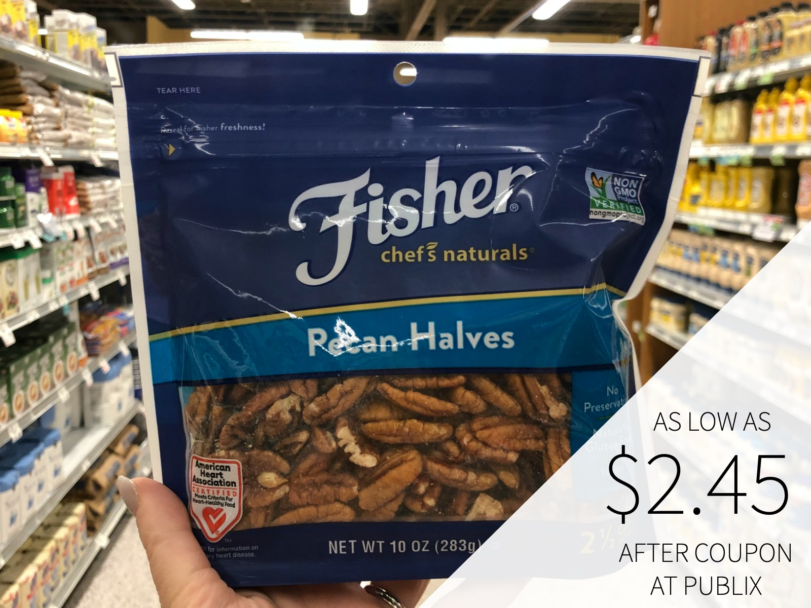 Fisher Chef's Naturals Baking Nuts Just $4.45 At Publix on I Heart Publix