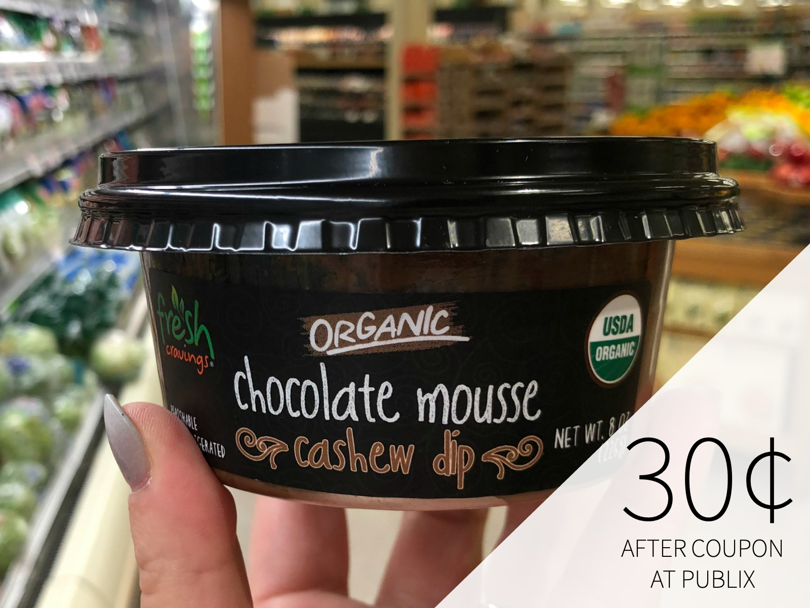 Fresh Cravings Organic Dip Only 30¢ At Publix on I Heart Publix 1