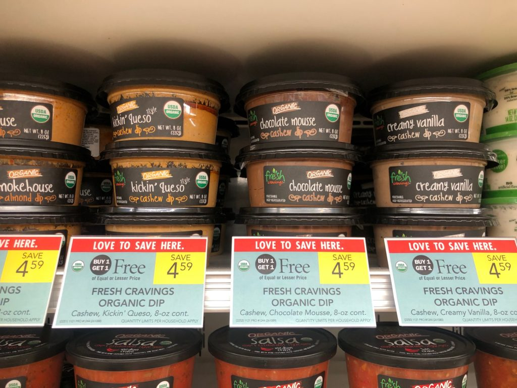 Fresh Cravings Organic Dip Only 30¢ At Publix on I Heart Publix