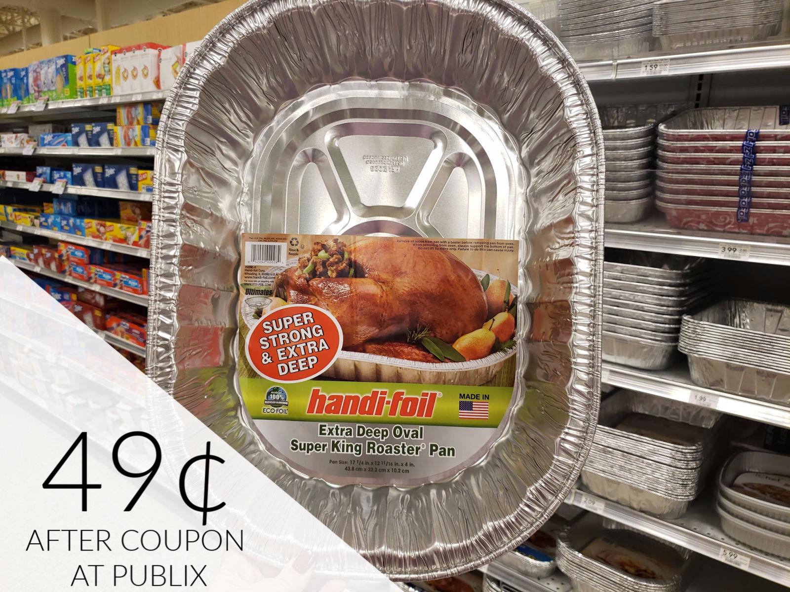 Handi-Foil Bakeware As Low As $1.09 At Publix on I Heart Publix 1