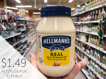 Big Savings On Hellmann's® Real Mayonnaise - Get Great Taste For All Your Favorite Holiday Recipes! on I Heart Publix 1